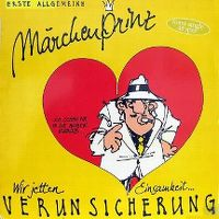 Cover Erste Allgemeine Verunsicherung - Märchenprinz