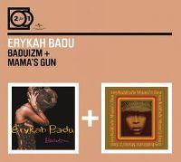 Cover Erykah Badu - 2 For 1: Baduizm + Mama's Gun
