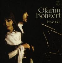 Cover Esther & Abi Ofarim - Ofarim Konzert Live 1969
