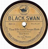 Cover Ethel Waters - There'll Be Some Changes Made