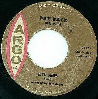 Cover Etta James - Pay Back