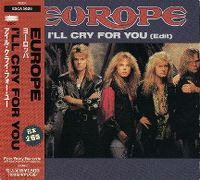 Cover Europe - I'll Cry For You