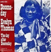Cover Evelyn Thomas - Doomsday