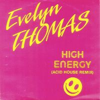 Cover Evelyn Thomas - High Energy (Remix)