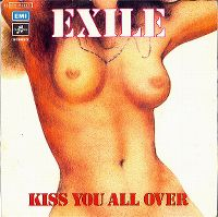 Cover Exile - Kiss You All Over