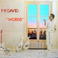 """Cover F-R David - """"Words"""""""