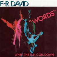 Cover F-R David - Words