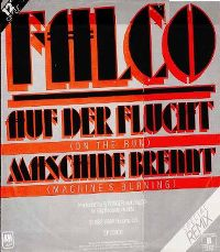 Cover Falco - Auf der Flucht