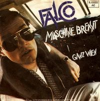 Cover Falco - Maschine brennt