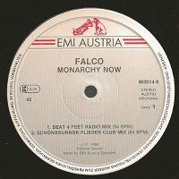 Cover Falco - Monarchy Now