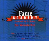 Cover Fame Academy coached by DJ BoBo - So Wonderful