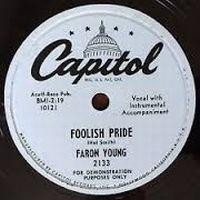 Cover Faron Young - Foolish Pride