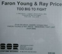 Cover Faron Young & Ray Price - Too Big To Fight