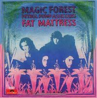 Cover Fat Mattress - Magic Forest