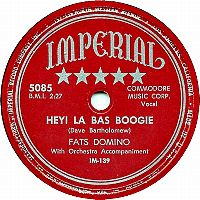 Cover Fats Domino - Hey! La Bas Boogie