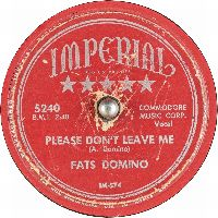 Cover Fats Domino - Please Don't Leave Me