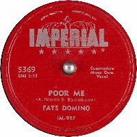 Cover Fats Domino - Poor Me