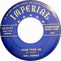 Cover Fats Domino - Poor Poor Me