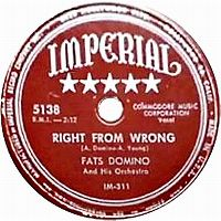 Cover Fats Domino - Right From Wrong