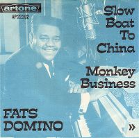 Cover Fats Domino - Slow Boat To China
