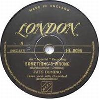 Cover Fats Domino - Something's Wrong