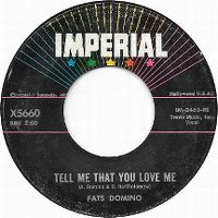 Cover Fats Domino - Tell Me That You Love Me