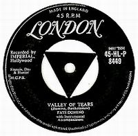 Cover Fats Domino - Valley Of Tears