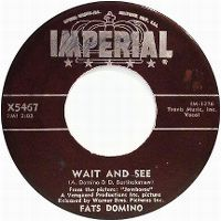 Cover Fats Domino - Wait And See