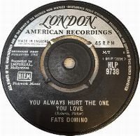 Cover Fats Domino - You Always Hurt The One You Love