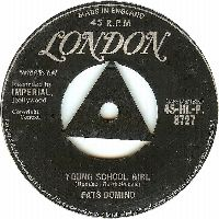Cover Fats Domino - Young School Girl