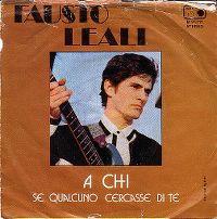 Cover Fausto Leali - A chi