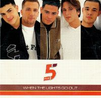 Cover Five - When The Lights Go Out