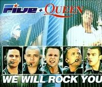 Cover Five + Queen - We Will Rock You