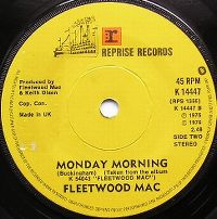 Cover Fleetwood Mac - Monday Morning
