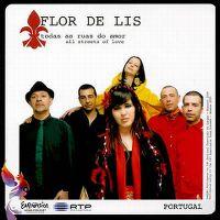 Cover Flor-de-lis - Todas as ruas do amor
