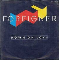 Cover Foreigner - Down On Love