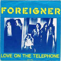 Cover Foreigner - Love On The Telephone