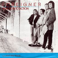 Cover Foreigner - Reaction To Action
