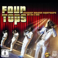 Cover Four Tops - Discover Motown Superstars On CD & DVD