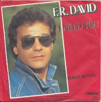 Cover F.R. David - I Need You
