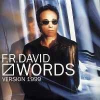 Cover F.R. David - Words 1999