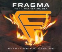 Cover Fragma feat. Maria Rubia - Everytime You Need Me