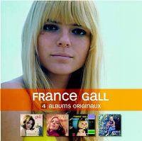 Cover France Gall - 4 albums originaux