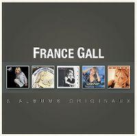 Cover France Gall - 5 albums originaux