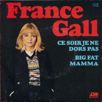 Cover France Gall - Ce soir je ne dors pas