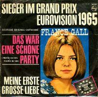 Cover France Gall - Das war eine schöne Party