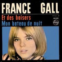 Cover France Gall - Et des baisers