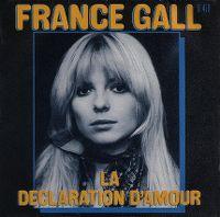 Cover France Gall - La déclaration d'amour