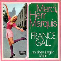 Cover France Gall - Merci, Herr Marquis