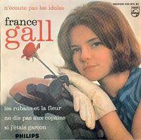 Cover France Gall - N'écoute pas les idoles